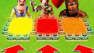 Minecraft: Do Not Choose The Wrong ENDPORTAL(Hello Neighbor, PENNYWISE, FNAF)(PS4/XboxOne/PE/MCPE)