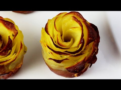 potato bacon roses kartoffel schinken rosen youtube. Black Bedroom Furniture Sets. Home Design Ideas