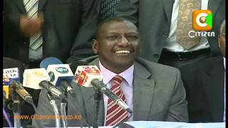 Ruto and Allies URP Announcement