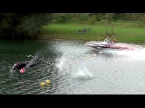 Stokes ProAm - Water Ski Crash HIGHLIGHTS