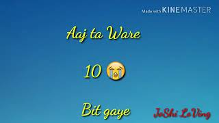 10 saal  || WhatsApp Status video || Gurjeet || geet mp3 || new Punjabi song