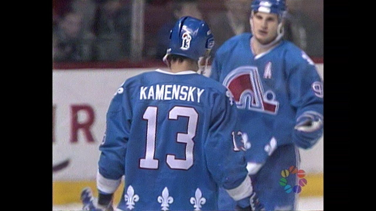 606bc246f Nordiques vs Canadiens in Montreal for the last time (1995) - YouTube