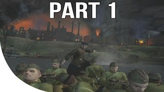 Call of Duty Finest Hour Gameplay Walkthrough Part 1 - Eastern Front - Stalingrad