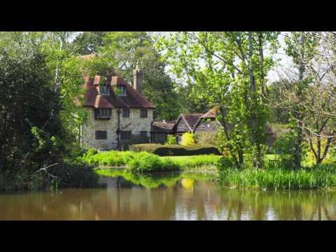 Michelham Priory Medieval Garden in East Sussex