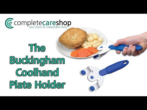 Buckingham Coolhand Plate Holder - Microwave Aid
