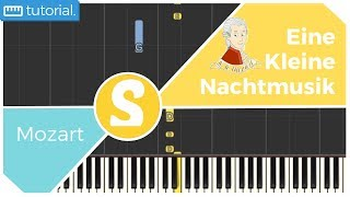 How to play EINE KLEINE NACHTMUSIK by Mozart | Smart Kids Piano | Kids Piano Tutorials