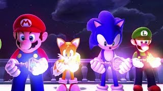 Mario And Sonic At The Sochi 2014 Olympic Winter Games   Legends Showdown Finale