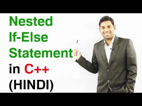 Nested If  Else Statement in C++ (HINDI)