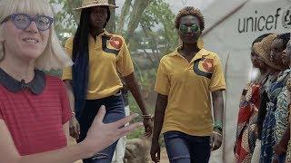 Zmieniać świat na nieswojej ziemi: Marina Hulia (PL) / Opportunigee (UG)