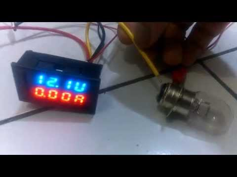 auto voltmeter hook up