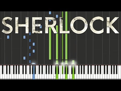 Sherlock BBC - Main Theme | Piano Tutorial