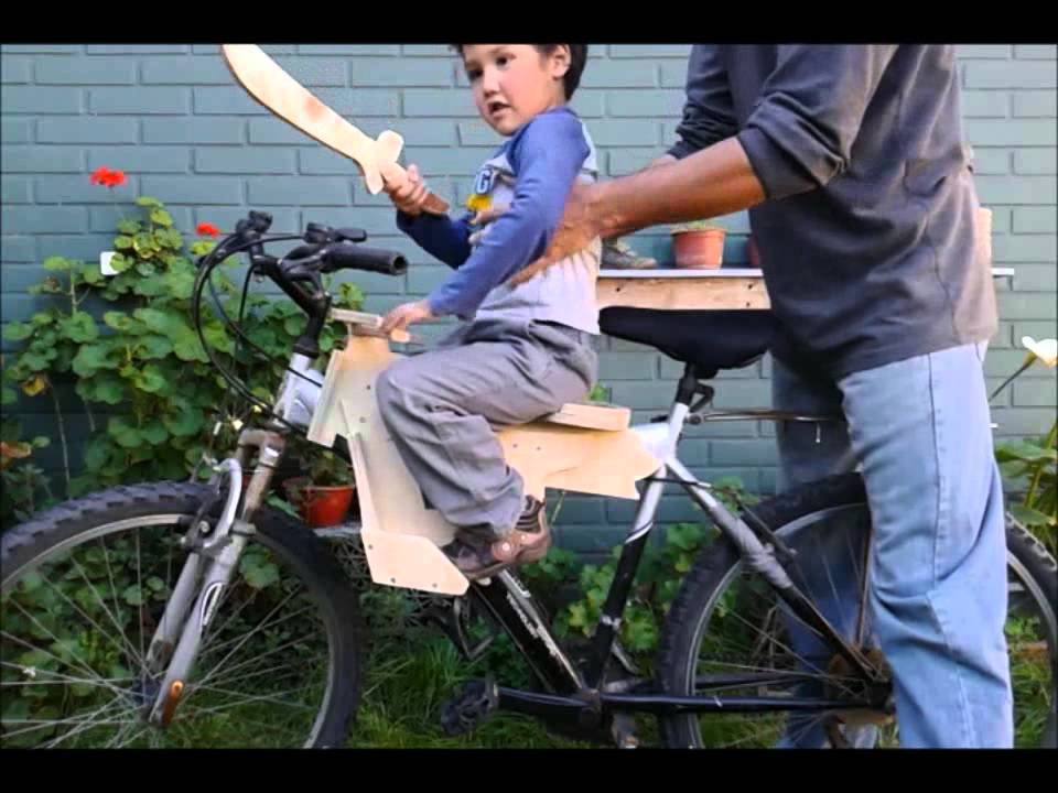 Prototipo asiento para nios adaptable a bicicleta de