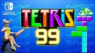 Tetris 99 Nintendo Switch - Massive Online Battle Royale New Tetris Game Play
