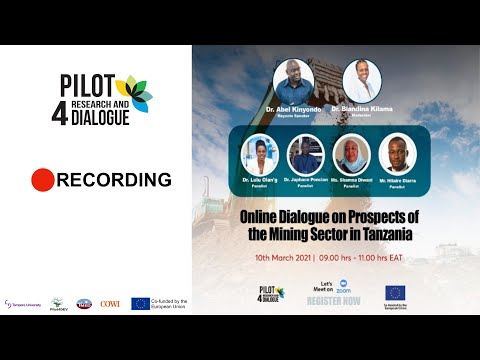 Online Dialogue on the Prospect of the Mining Sector in Tanzania