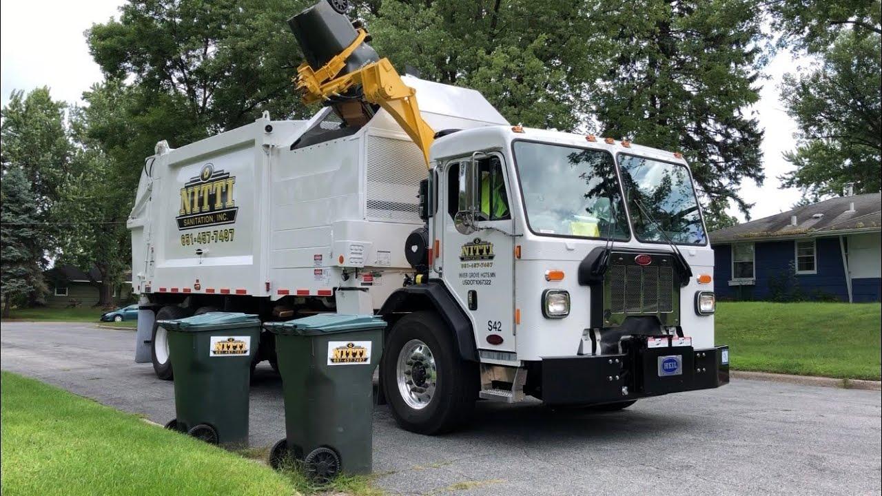 Brand New Peterbilt 520 Heil Python Garbage Truck