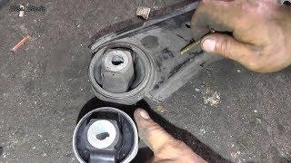 Замена сайлентблоков передней подвески на FIAT Doblo Maxi