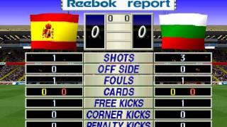 3er partido mundial francia ISS pro 98 España 0 Bulgaria 0