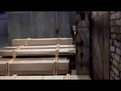 Алюминиевый профиль прибывает на склад в Киеве