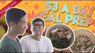 How To Meal Prep on $3 A Day | Eatbook Vlogs | EP 49