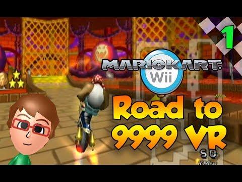 Mario Kart Wii Custom Tracks - Road to 9999 VR Episode 1 - WHAT?!