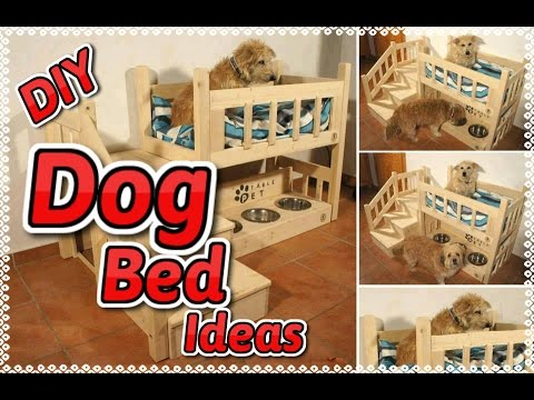 DIY Dog Bed Ideas!   Inspirational DIY Ideas for Dog Beds   Glam it Yourself