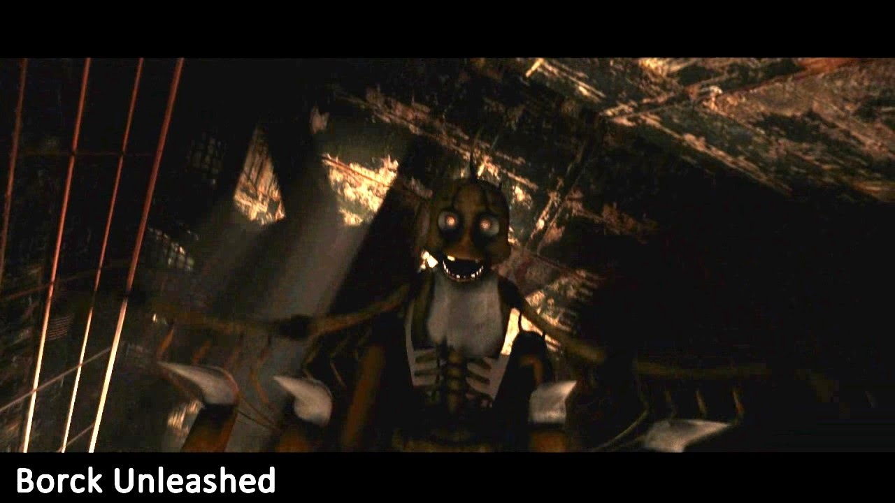 Five Nights At Freddys New Generation Death Scene Chica HD YouTube