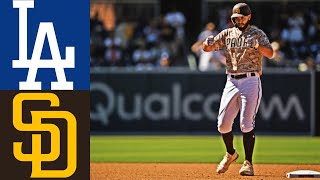 San Diego Padres vs. Los Angeles Dodgers Game Highlights | MLB 4/18/21