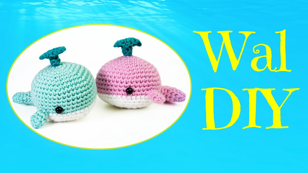 Wal Häkeln Do It Yourself Amigurumi Meeresbewohner Youtube