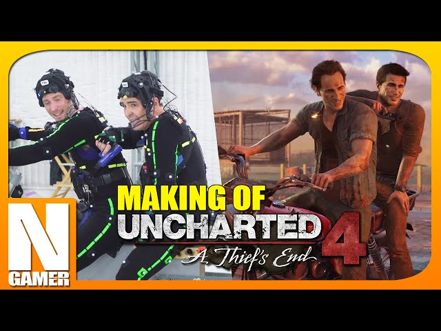 MAKING OF Uncharted 4: A Thief's End - Noberto Gamer