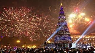 Ереван Новогодняя ЕлкаYerevan Christmas Tree 2020VLOG21 декабря 2019