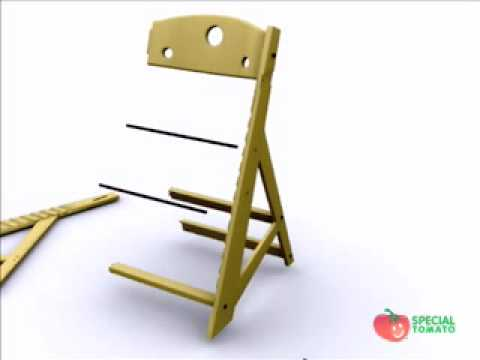 Special Tomato Adjustable High Chair Assemble – SpecialTomato.com