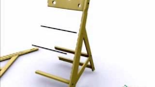Special Tomato Adjustable High Chair Assemble - Specialtomato.com