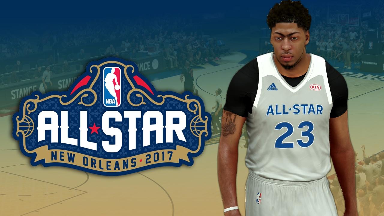 23bd19c89612 NBA 2K17 2017 NBA All Star Jerseys Tutorial - YouTube