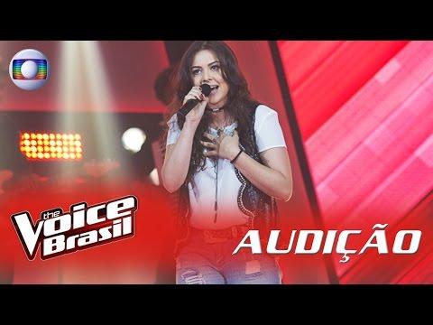 Fernanda Silva canta 'Tocando em Frente' nas Audições - 'The Voice Brasil'|5ª Temporada