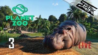 Gambar cover Planet Zoo - 3.Rész (Belevágunk a karrierbe!) - Stark LIVE