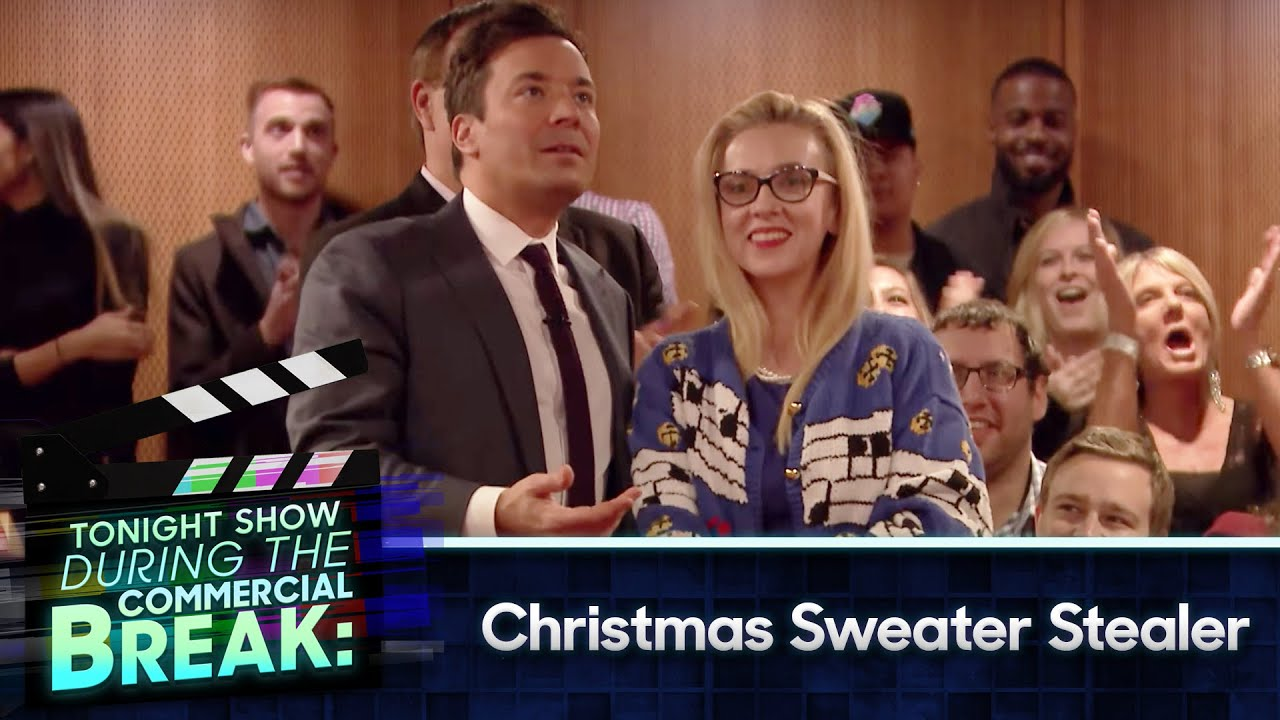 During Commercial Break: Christmas Sweaters Stealer - YouTube
