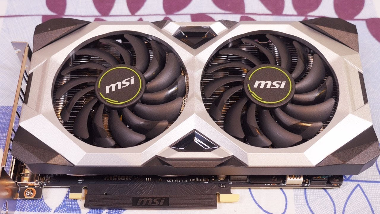 MSI RTX2060 Ventus 6G OC Unboxing & Overview