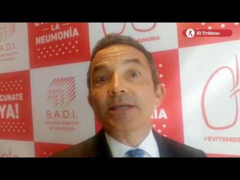 Sadi presentó Campaña Nacional de Vacunación contra la Neumonía