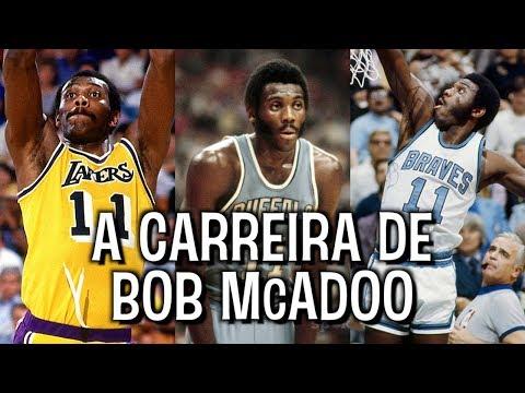 BOB McADOO: cestinha, MVP e bicampeão da NBA!
