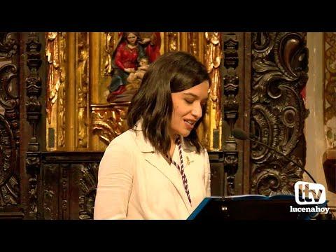 """VÍDEO: Presentación del cartel """"Mayor Dolor 2021"""" a cargo de Araceli López Guerrero"""