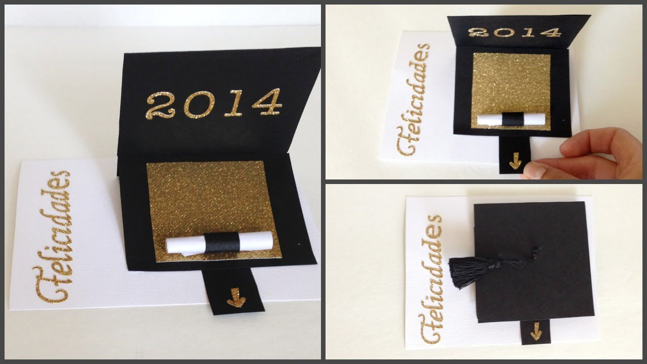 tarjeta para graduacingraduation card youtube