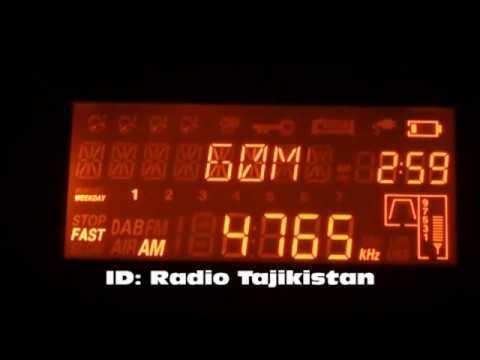 11.06.2017 23:58UTC Tajik Radio 1,  4765kHz