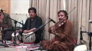 Aik tu na mila sari dunia mila bi to kia on Violin played by great Ustad Raees Ahmad Khan
