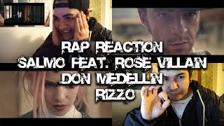 RAP REACTION • Salmo Feat. Rose Villain - Don Medellín  • Rizzo