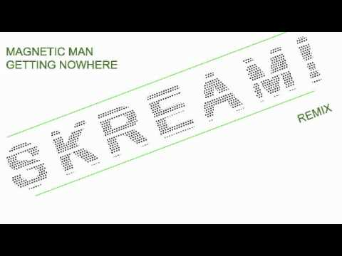 magnetic man getting nowhere (skream remix) mp3