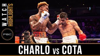 Charlo vs Cota HIGHLIGHTS: June 23, 2019 - PBC on FOX