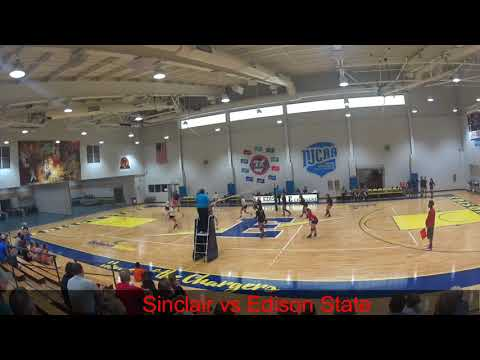 Sinclair vs Edison State Community College September 22nd 2017