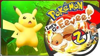 Pokémon: Let's Go, Eevee! #2 - Kelner, w moim Eevee pływa Pikachu!