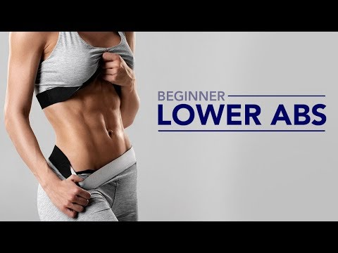 Lower Abs for Beginners (FLAT BELLY STARTS HERE!)