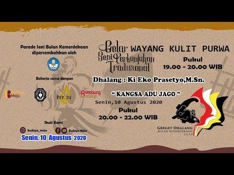 Live Ki Eko Prasetyo M Sn Kangsa Adu Jago Hari Ke 10 Greget Dhalang Wayang Purwa Youtube